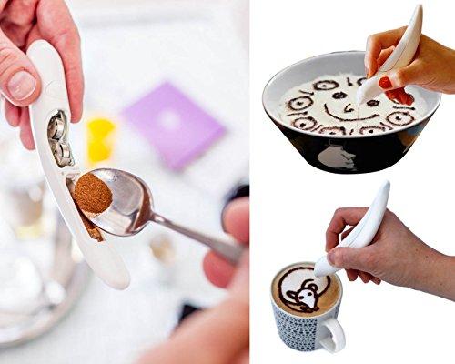 Bolígrafo Canela Cacao para capuccino 01