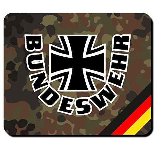 Bundeswehr Deutschland Kreuz BW Bund Dienst Wehrpflicht Wappen Abzeichen Emblem - Mauspad Mousepad Computer Laptop PC #8034 -