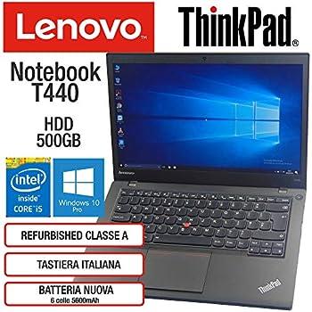 Lenovo ThinkPad T440 Intel Core i5-4300U 4GB RAM Tarjeta ...