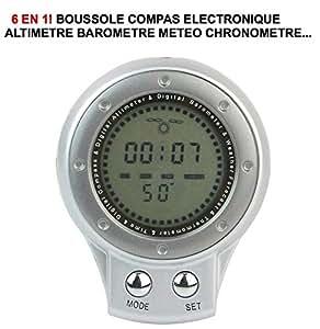 RARE 6 EN 1 ! COMPAS BOUSSOLE METEO ALTITUDE CHRONOÉRAID PREPARATION 4X4