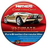 Mother's MOTHERS 05550 California Gold Pure Brazilian Carnauba Wax Autowachs Paste, Anzahl 1