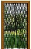 Bestlivings Insektenschutz Magnetvorhang Fliegengitter für Türen, in Länge und Breite individuell kürzbar, Auswahl: 130x220cm