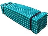 Belloo 190x57x2CM Faltbare Isomatte Sitzkissen tragbare,wasserdicht weiche Moisture Pad Matte für Reisen Picknick Strand Angeln Camping Outdoor Schlafmatte