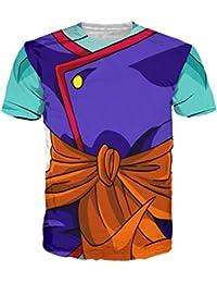 Noorhero Camiseta de Hombre - Dragon Ball Armor Goku Z