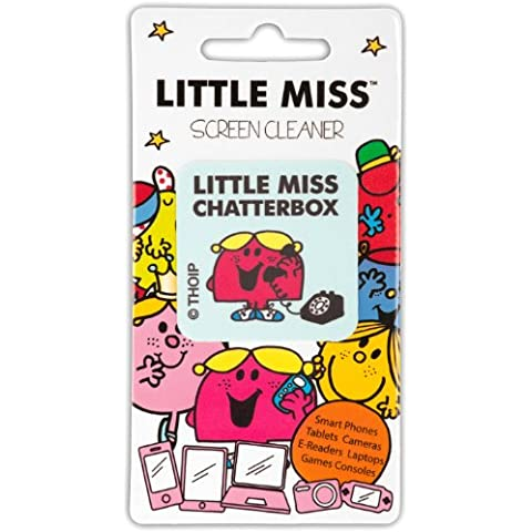 Stickems - Pulitore per display con panno per pulitura, per Smartphones Little Miss Chatterbox