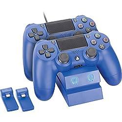 Estacion de carga para mandos Dualshock PS4 - Azul