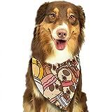 Osmykqe Hund Bandanas Puglie Mops Einstellbare Hundehalsband Katze Schal Welpen Bandans Pet Zubehör
