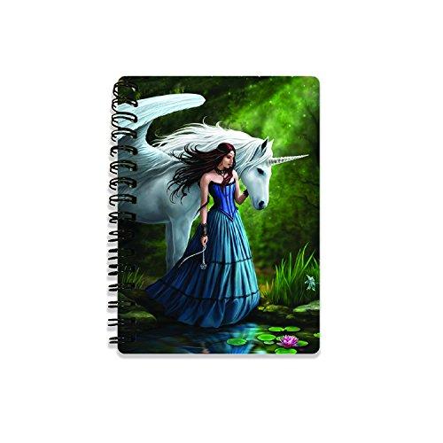 Unbekannt Anne Stokes as182283D Notebooks, Multi, 10,5cm x 14,5cm