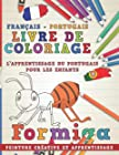 Livre de coloriage - Français - Portugais I L'apprentissage du portugais pour les enfants I Peinture créative et apprentissage