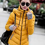 Banbie8409 Winter Jacket Women Outerwear Down Coat Short Slim Cotton-Padded Jackets...