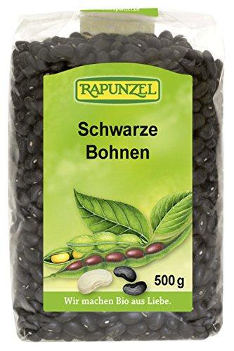 Rapunzel Schwarze Bohnen (500 g) - Bio