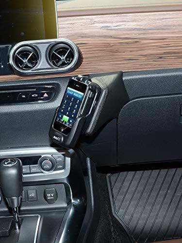 KUDA 3295 Halterung Kunstleder schwarz für Mercedes X-Klasse ab 2017 (Baureihe 470) Iso Mount (iso-radios
