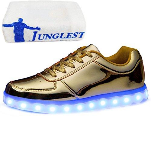 (Présents:petite serviette)JUNGLEST® - Baskets Lumin Or