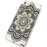 Malloom® PouriPhone 5C Henna Full Mandala Floral Dream Catcher Cuir Coque Strass Case Etui Coque ...