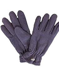 Thinsulate guantes de Conserje de forro polar clima frío protección de manos cómoda y suave guantes acolchados de, color azul - azul marino, tamaño talla única