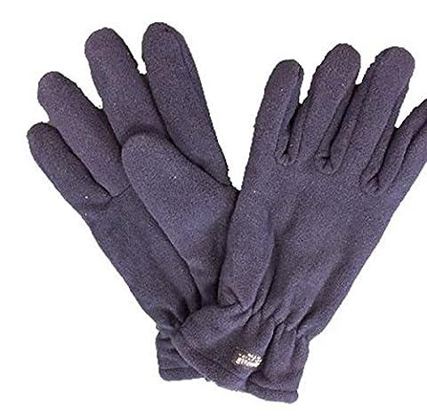 Gants en polaire Thinsulate Temps Froid winterwear Protection main gants doux et confortable, Bleu roi, taille unique