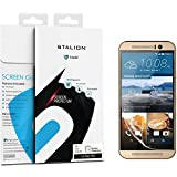 HTC One M9 Screen Protector: Stalion Shield Ultra HD Armor Guard Transparent Crystal Clear ese PET Film (3-Pack)[Retail Packaging]