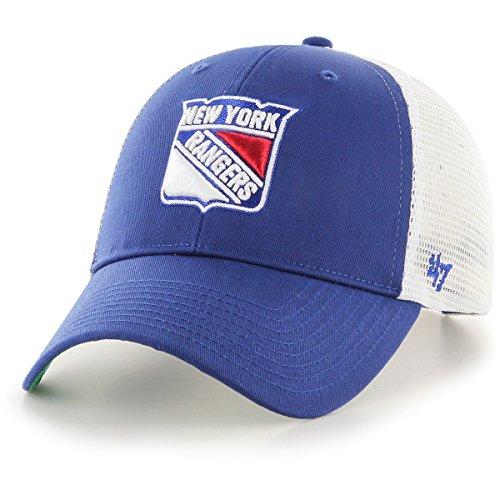 '47 Brand New York Rangers Branson NHL Trucker Cap