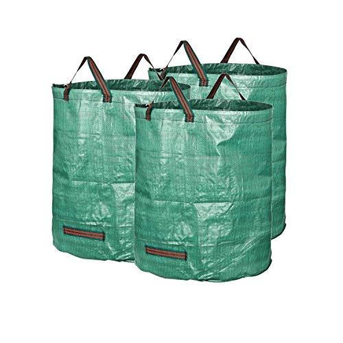 Homeself 2-pack 70 gallons réutilisables Heavy Duty jardinage Sacs - Feuille de jardin réutilisable Sacs de réception 72 Gallons