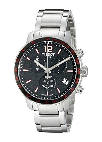 Tissot Herren-Armbanduhr Chronograph Quarz Edelstahl T095.417.11.057.00