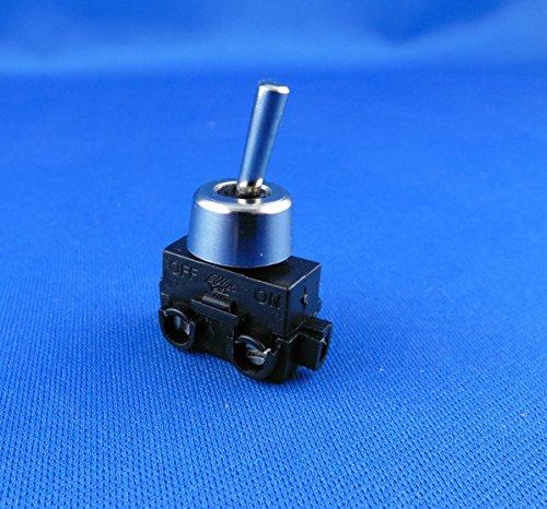 Empotrable Lámpara Interruptor ON/OFF con metal tuerca de sujeción de 250V 2A