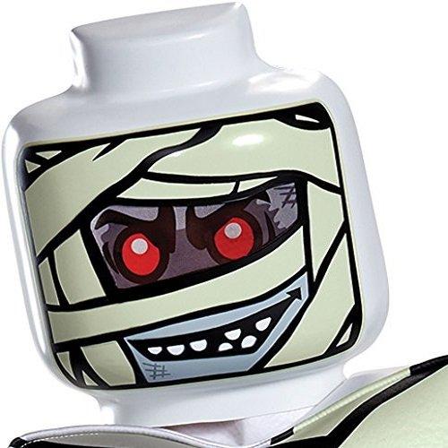 Kopf Lego Kostüm Batman - LEGO Iconic - Mumien Maske, one zize