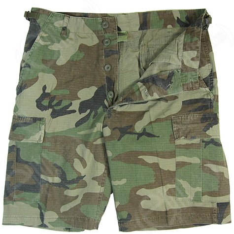 us-army-combat-mens-work-shorts-fishing-cargo-ripstop-woodland-camo
