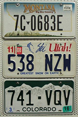 3er-set-lot-us-staaten-nummernschilder-montana-utah-colorado-blechschilder-usa-autoschilder