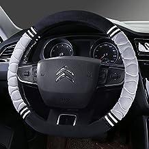 Felpa corto invierno tapacubos nuevo Citroen Elysee Sega-XR C3 C5 C2 C6 C4L Clásico,Modelo D Modelo [B] - Gris