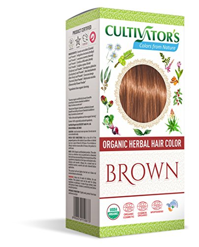 Kultivator BIO-Herbal Hair Color – Braun 100 g