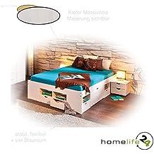 Funktionsbett 140x200 mit lattenrost und matratze  Suchergebnis auf Amazon.de für: funktionsbett 140x200