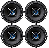 "Sound Boss Door 6"" INCH 2Way Performance Auditor 280W MAX B0162(Pack of 4) Coaxial Car Speaker (280 W)"