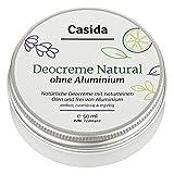 Deocreme ohne Aluminium Natural - Natürliche Deocreme mit naturreinen Ölen und ohne Aluminium -...