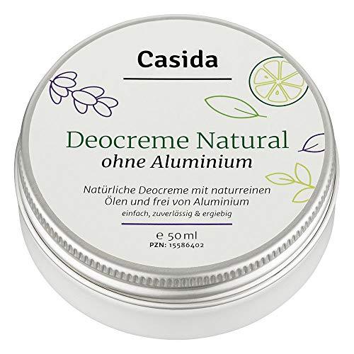 Crema desodorante sin aluminio natural - Crema desodorante