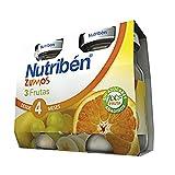 Nutriben Zumo 3 Frutas- 2 paquetes de 130 ml