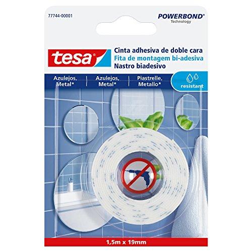 TESA 77744-00001-00 Cinta doble cara colgar azulejos