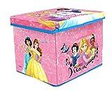 Disney Princess Toy Storage Box for Kids/organizing Box & Sitting Stool for Kids/Multipurpose