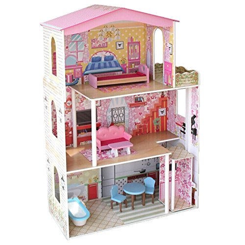 boppir-tall-wooden-girls-dolls-house-3-storey-town-mansion-with-moving-lift-elevator-and-7-play-furn