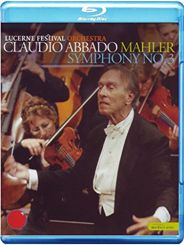 Preisvergleich Produktbild MAHLER: Sinfonie Nr. 3 - Claudio Abbado (Luzern) [BLU-RAY]