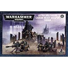 WarHammer 40k Squadra Armi Pesanti cadiana della Guardia Imperiale
