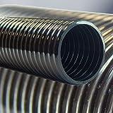 Profi Teichschlauch, Saugschlauch, Druckschlauch als Meterware in schwarz 19mm - 50mm 38 mm (1 1/2')