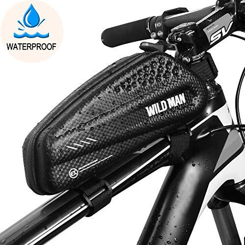 8d62ac536ca BTNEEU Bolsa Manillar Bicicleta Impermeable, Bolsa Cuadro Bicicleta Bolsa  Tubo Bicicleta Bolsa Movil Bicicleta para