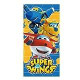 Super Flügel 2200002182140x 70cm Blau und Badetuch Strandtuch