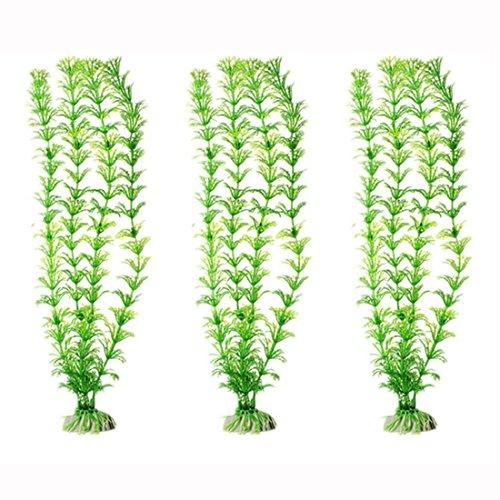 Vollter Ornament Dekoration Künstliche Green Plant Gras für Aquarium Aquarium Decor