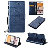 Galaxy J5 Prime, COWX Case PU Leather Case for Samsung