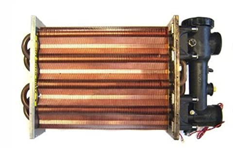 Hayward FDXLHXA1250A Asme Heat Exchanger Assembly Replacement for Hayward H250FD H-Series Pool Heater