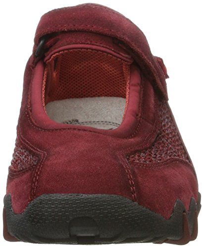 Allrounder by Mephisto Niro C.suede 48/Fly 75 Dk Wt.red/Dk Red, Chaussures de Running Compétition femme Rot (Dk Wt.Red/Dk Wt. Red)
