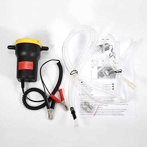 Pompa Estrattore Per Aspirazione Olio 12V 60 Watt Pompa diesel per cambio olio