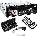 Jago - Autoradio - formats MP3, WMA, WAV - lecteur de cartes SD/SDHC/MMC - source audio AUX - avec télécommande