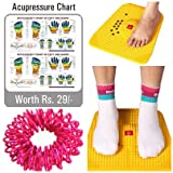 #7: Super India Store Power Mat 2000-Magnetic n Acupressure Pyramids Mat for Pain Relief - 12 x 12.5